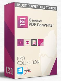 Icecream PDF Converter Pro 2.75