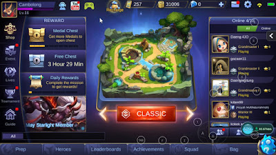 Main Mobile Legend di PC Tanpa Emulator dengan Phoenix OS