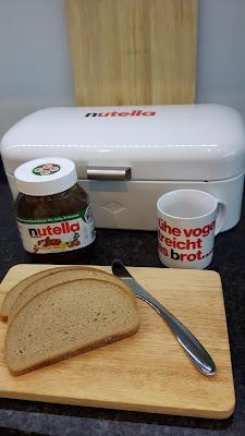 mein neues Brotset von Nutella, WMF und Wesco