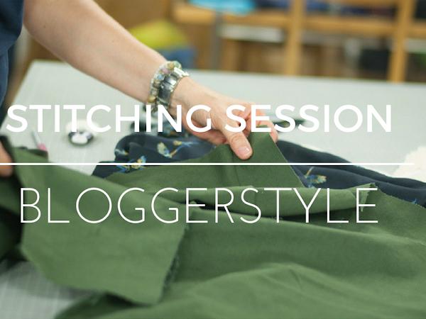 Es lunzert - eine Stitching Session Bloggerstyle