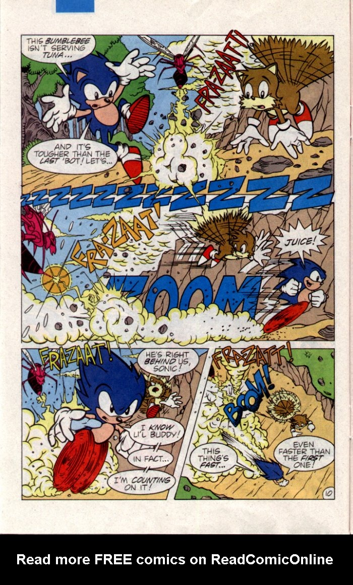 Read online Sonic The Hedgehog comic -  Issue #21 - 11