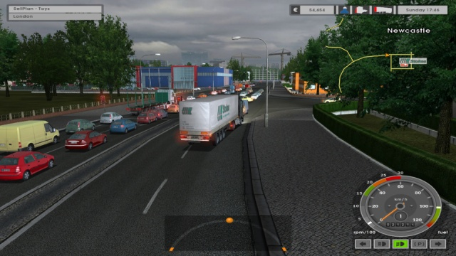 Download Euro Truck Simulator 1 PC Games Gameplay