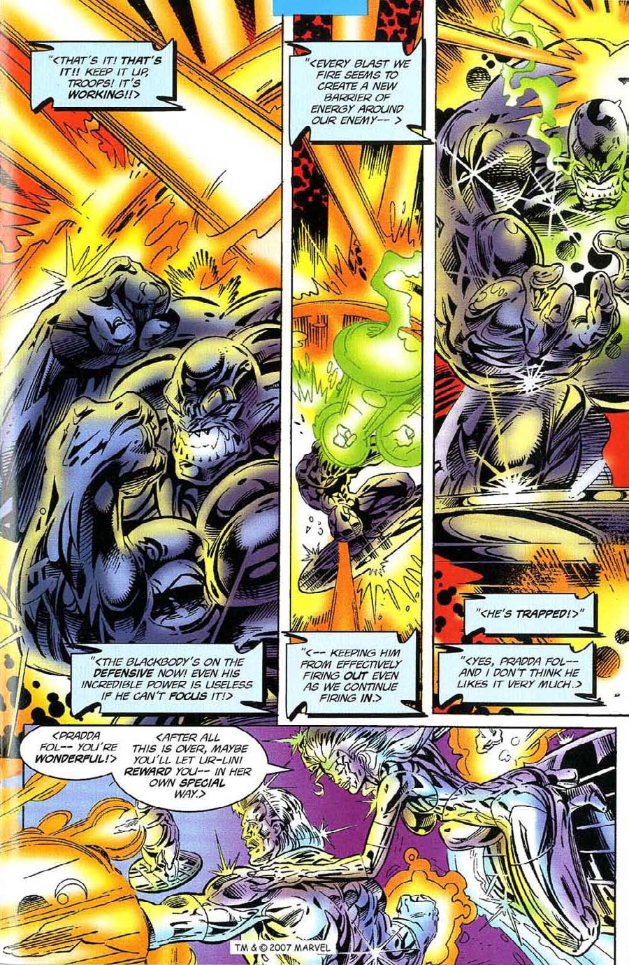 Read online Silver Surfer (1987) comic -  Issue #117 - 25