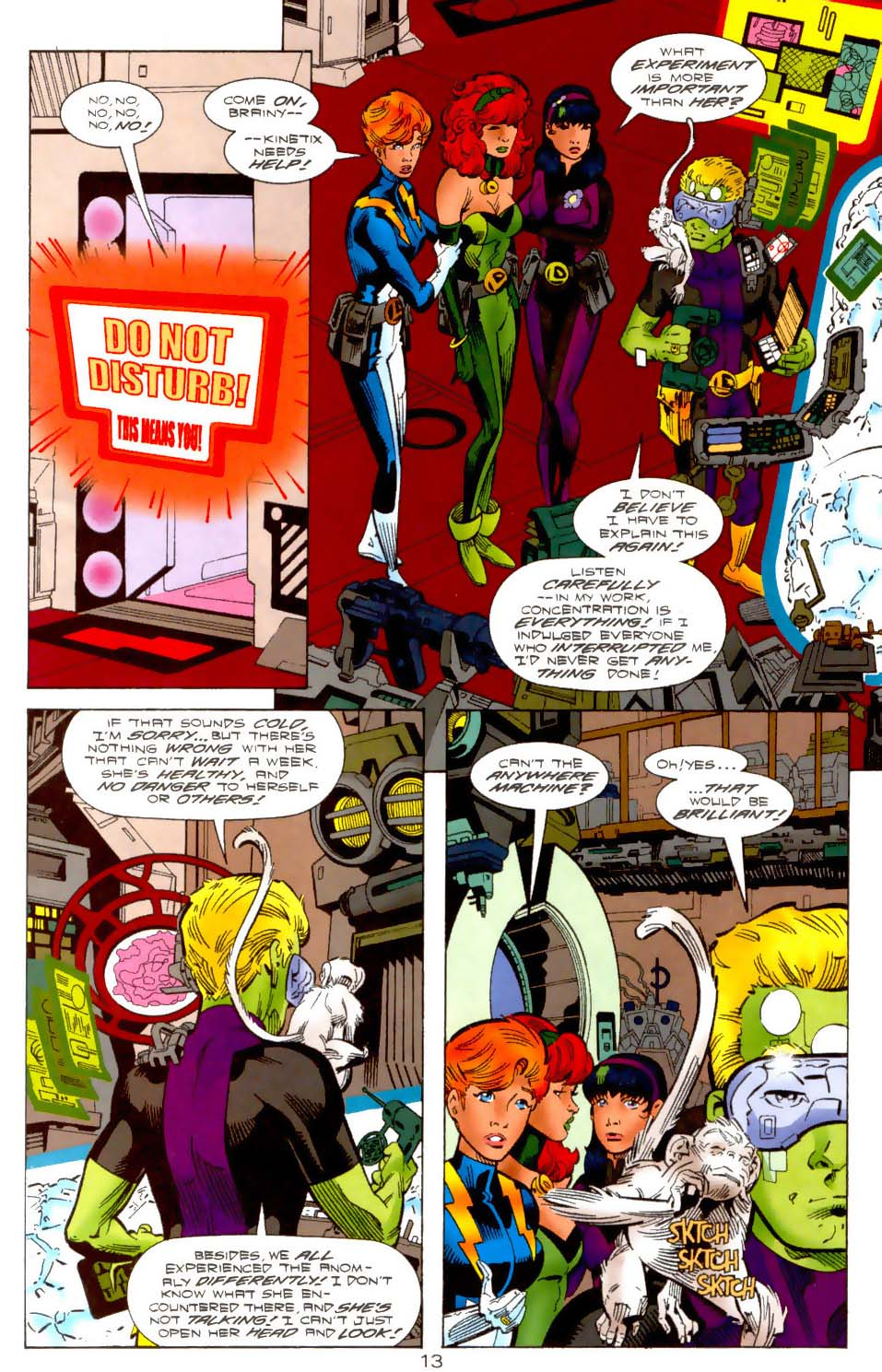 Legion of Super-Heroes (1989) 113 Page 12