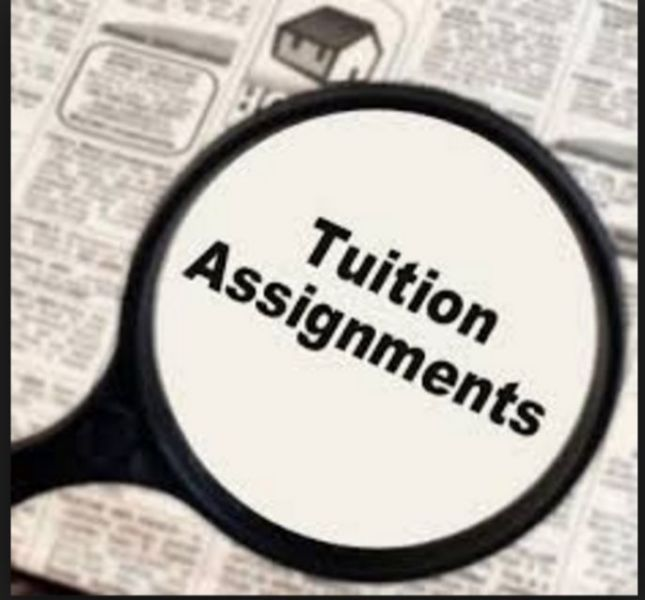 Tuition Assignments in Singapore | Tutor Job