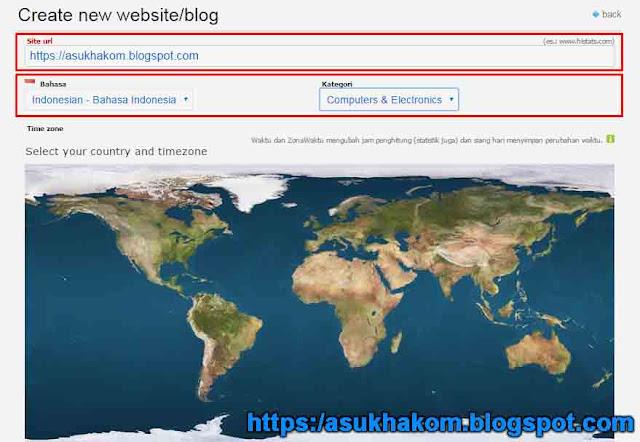 Cara Daftar Histats dan Memasangnya di blog