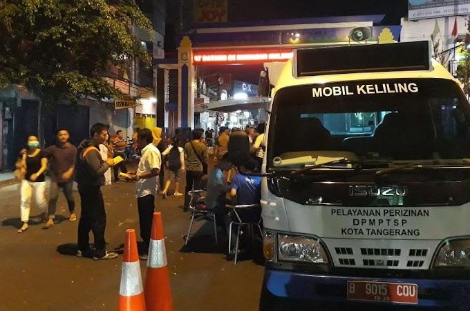 Mobil Keliling DPMPTSP Hadir di Culinary Night