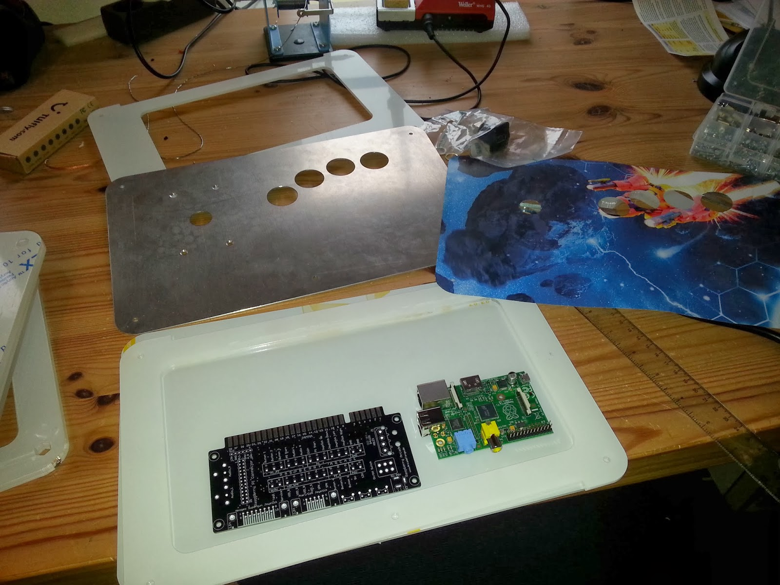 Arcade and Video Game Modding: ArcadeForge de PiJamma