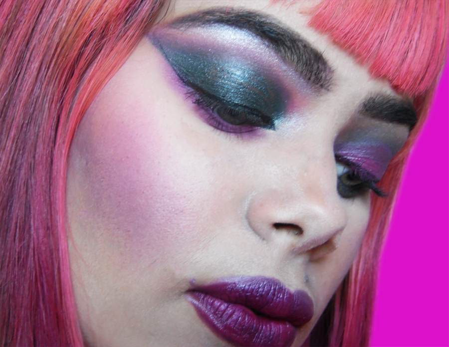 Smell Like a Children Marilyn Manson Inspired Makeup