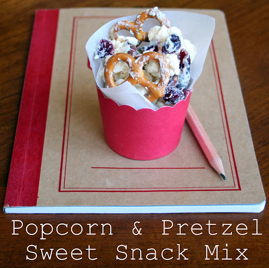 House of Frolic and Mirth: After School Sweet & Salty Snack
