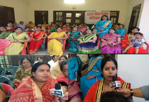 Aaradhya-public-welfare-society-ki-mahillao-ne-kiya-matdaan-jaagrukta-abhiyaan