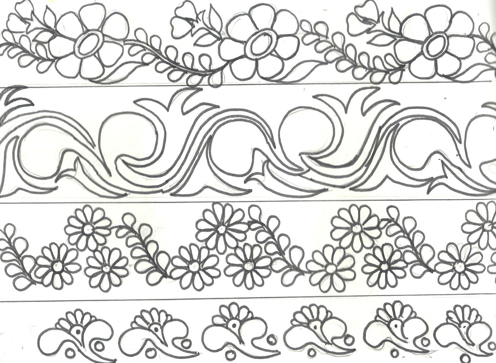 Art n craft latest border designs