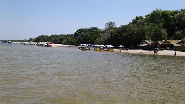 #praiaderio, #alterdochao, #pará, #caribeamazonico, #riotapajos #viagememfamilia, #tourpelobrasil, #Roteirinhodeférias, #dicasparaviajarcomosfilhos, #regiaonorte, #praia, #guiadeviagens  Caminho até a Ilha do Amor