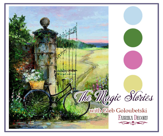 Задание июля. The Magic Stories with Gleb Goloubetski до 31/07