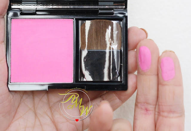 a photo of Pink Sugar Sweet Cheeks HD Cheek Color in Tokyo Rush review.