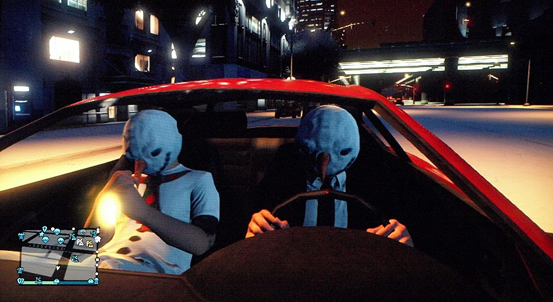 Gta 5 Online Christmas Masks.Gta V Screenshot Blog Gta V Christmas