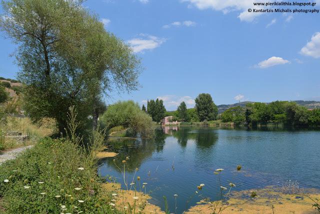 """Η """"ΑΛΗΘΕΙΑ"""" σας ταξιδεύει στο Κεφαλόβρυσο (Νομός Λάρισας, Δήμος Ελλασόνας). Υπέροχες φωτογραφίες από την λίμνη του χωριού."""