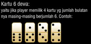 Kartu Domino Jenis 6 Dewa - Rekayasawans