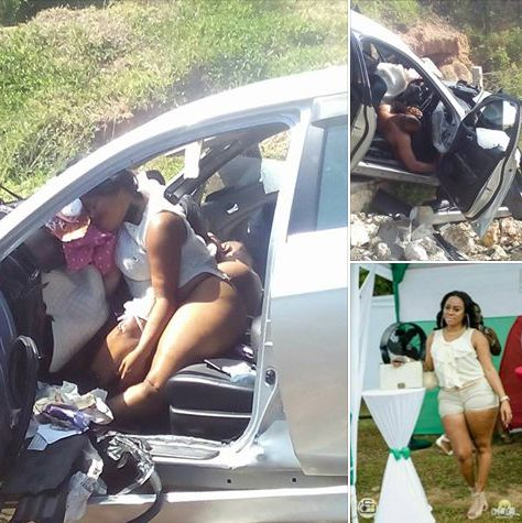 Big Lady & Boyfriend Die While Having S*x In Moving Car