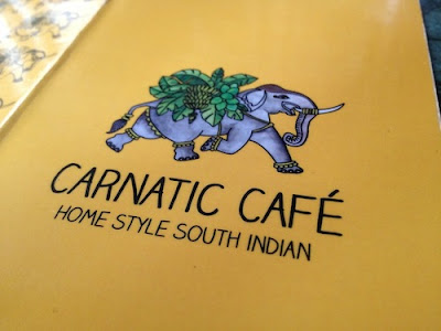 carnatic cafe, new friends colony