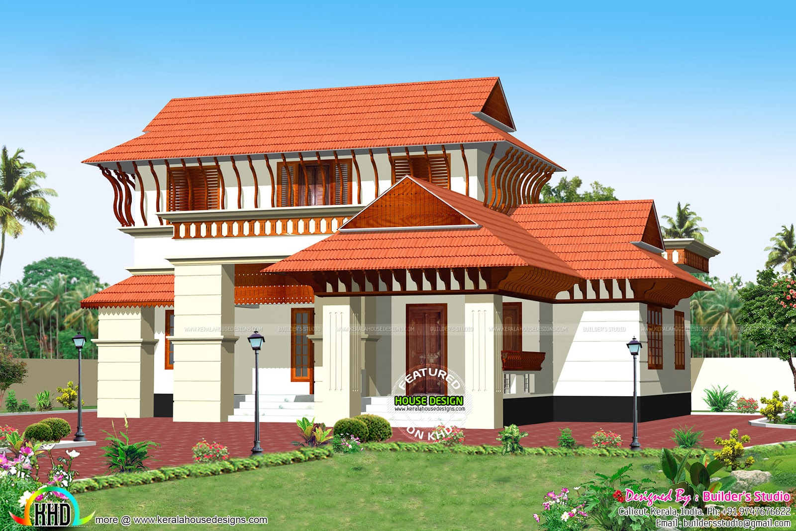 March 2016 kerala home design and floor plans for Kerala style house plans with photos
