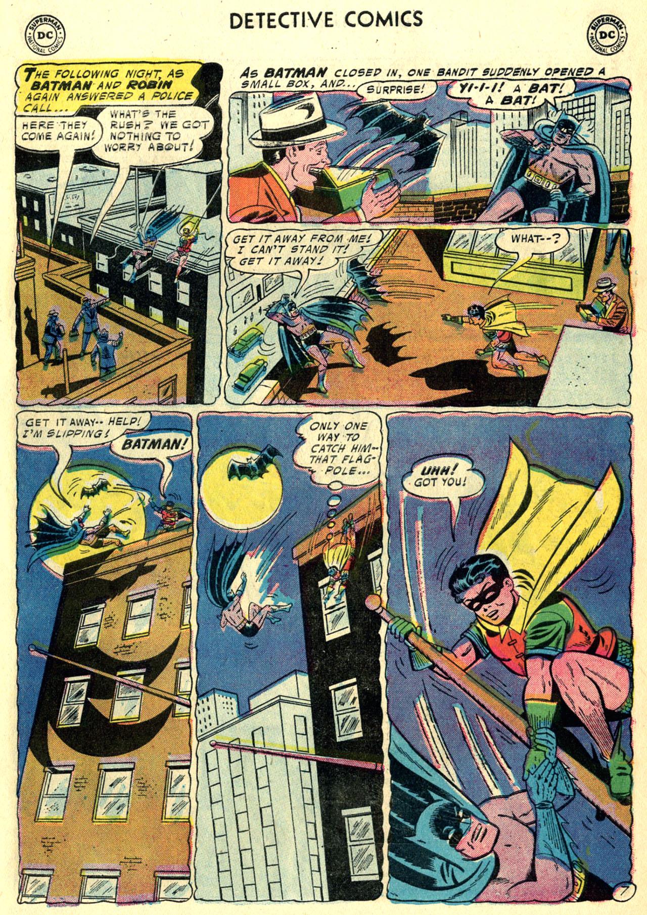 Read online Detective Comics (1937) comic -  Issue #247 - 9