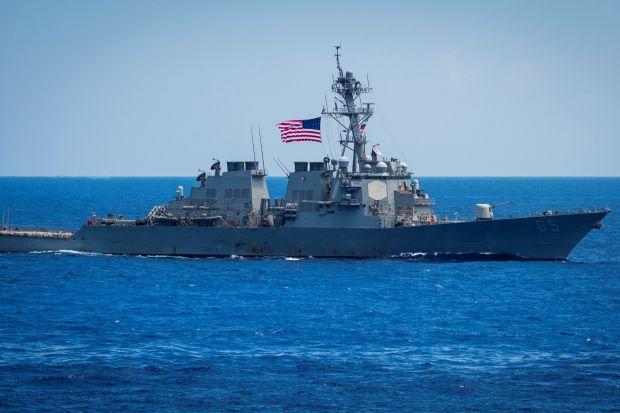 Újabb amerikai hadihajók keltek át a Tajvani-szoroson