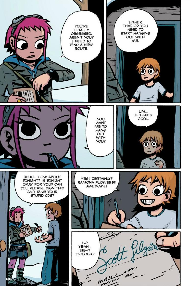 Read online Scott Pilgrim comic -  Issue #1 - 78