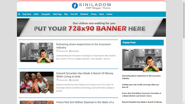Siniladom AMP Blogger Template, Free amp templates,best amp templates,google amp templates,amp templates,seo friendly amp templates, seo friendly templates