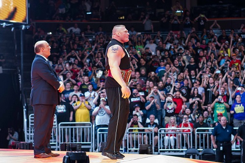 Brock Lesnar Return Date Confirm To Face Chamber Winner