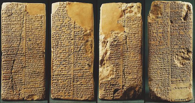 Enûma Eliš, Enuma Elish, genesis babilônico, sumérios