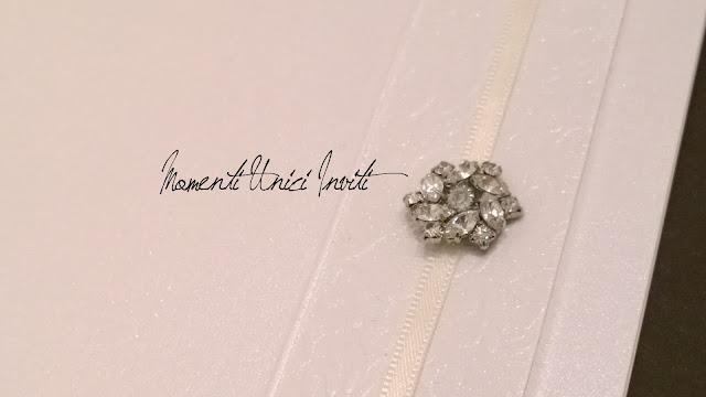 4 Dettagli preziosi delle nostre partecipazioni... Linea Luxury - Mod. Petit BijouColore Bianco Linea Luxury Serie Luxury Total White