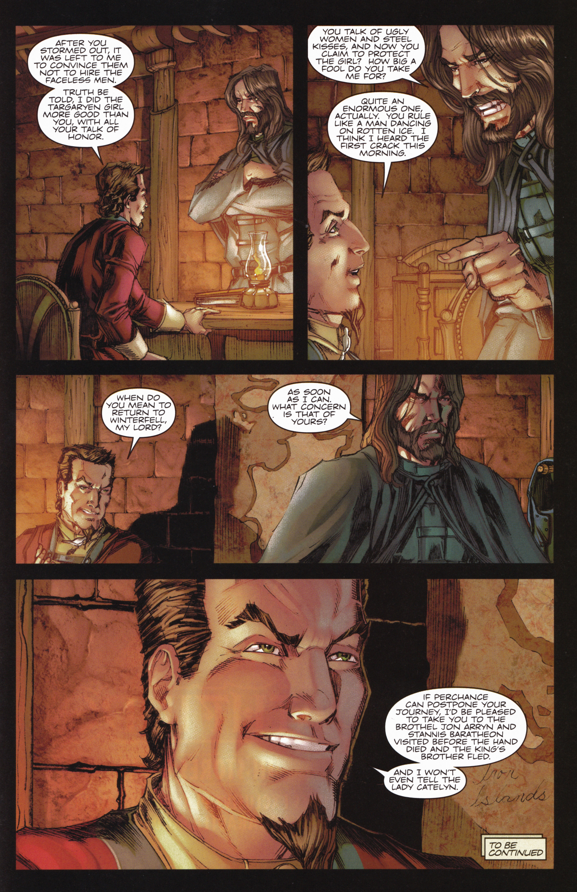 Read online A Game Of Thrones comic -  Issue #10 - 31