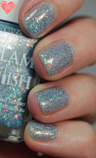 Glam Polish Newt… I Don't Think I'm Dreaming 2.0 swatch by Streets Ahead Style