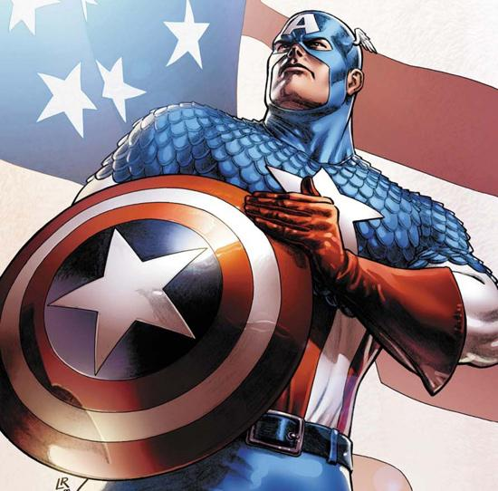 The Age Of Marvel Comics The Many Shields Of Captain America