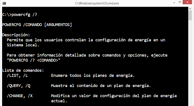 Windows: Deshabilitar ahorro de energía - PowerCFG