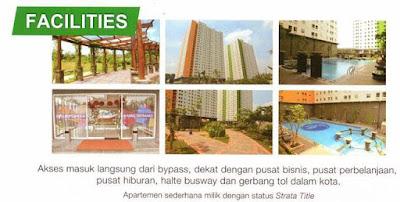 Fasilitas Green Pramuka City