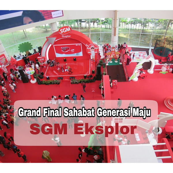 Keseruan Grand Final Sahabat Generasi Maju