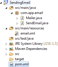 Spring - Sending E-Mail with MailSender