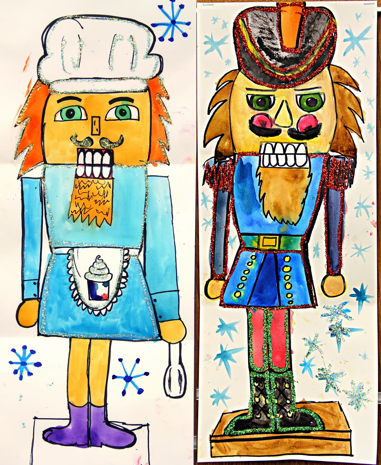 """SmART Class: Winter One Day Projects """"Nutcrackers"""" And"""