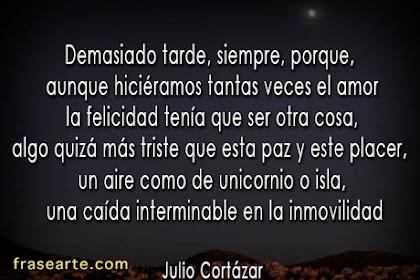Frases Celebres De Amor De Julio Cortazar
