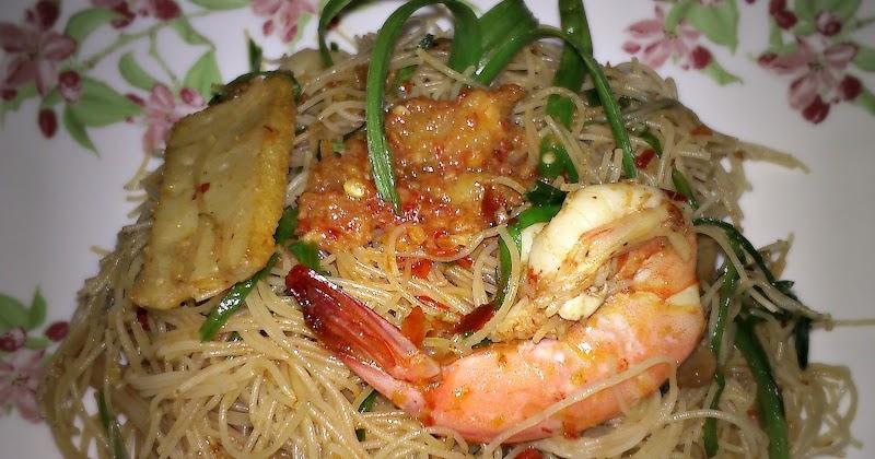 My Cookbook: Mee Hoon Goreng Siam / Mee Hoon Goreng Taucu