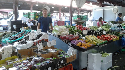 Mercado exterior del Queen Victoria Market