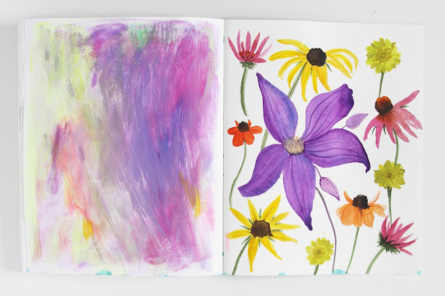 sketchbook, 2x2 Sketchbook, artist collaboration, Dana Barbieri, Anne Butera