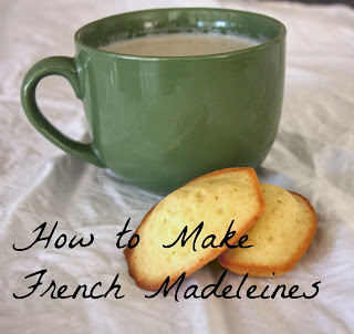 French Madeleines by Lavende&Lemonade