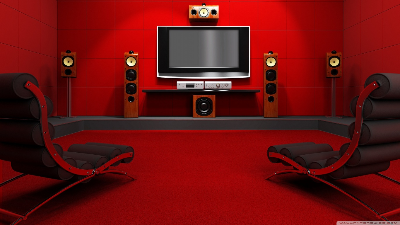Internet mosquito create a home theatre pc with a - Home theater wallpaper ...
