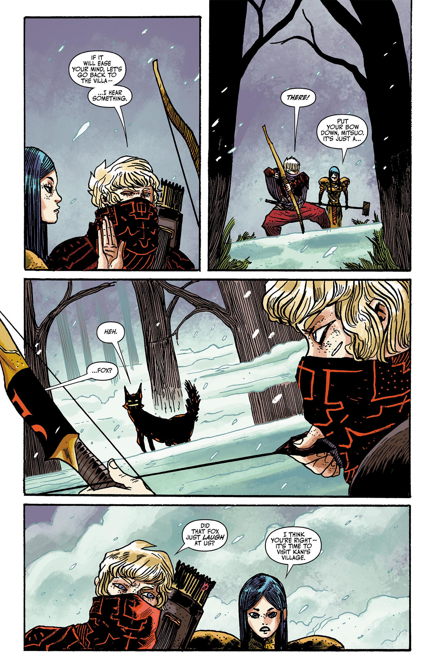 Read online Akaneiro comic -  Issue #2 - 10