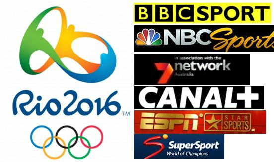 Olympics Rio 2016 TV Telecast Channels, Broadcasting Rights