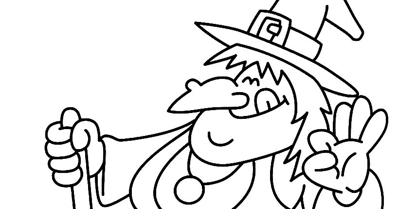 h is for halloween coloring pages - photo #31