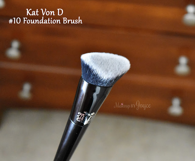 Kat Von D Lock It Edge Foundation #10 Brush Review